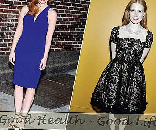 Jessica Chastain Rocks Ne viens, bet divi Killer Frocks - Mode